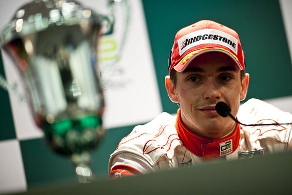 Jules Bianchi, Abu Dhabi GP2 Asia podium 2010