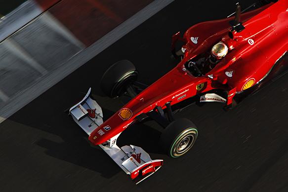 Jules Bianchi, Ferrari, Abu Dhabi F1 testing, November 2009