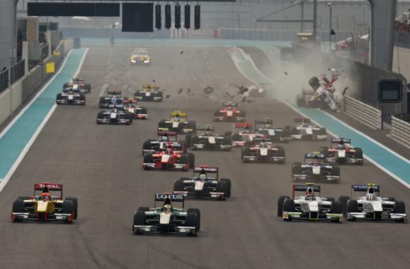 Bianchi, GP2 Asia, Abu Dhabi