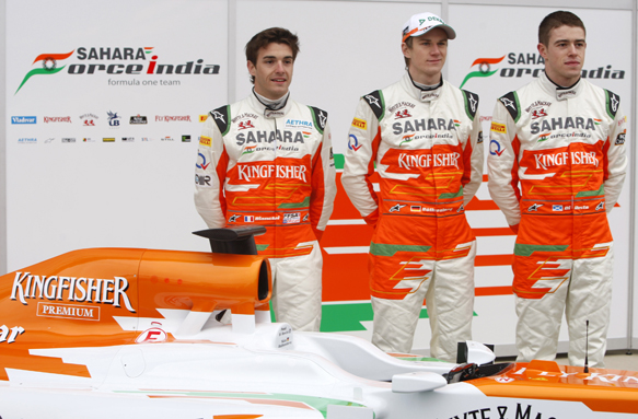 Bianchi, Force India, 2012