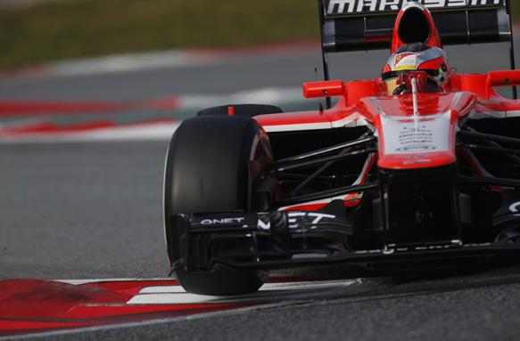 Bianchi, Marussia, 2013