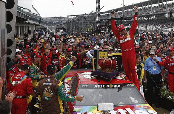 Kyle Busch, NASCAR 2015