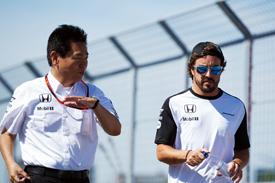 Arai, Alonso, Honda