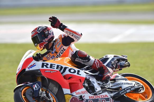 Marc Marquez, Honda, Silverstone MotoGP 2015