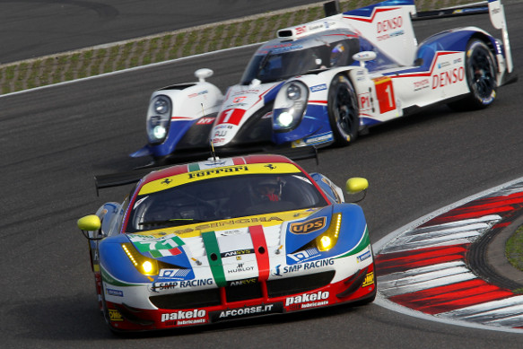 Calado Rigon AF Corse Ferrari, Nurburgring WEC 2015