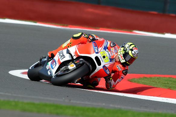 Iannone Ducati Silverstone MotoGP 2015