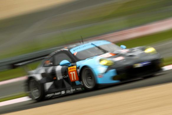 Dempsey Long Seefried Porsche Nurburgring WEC 2015