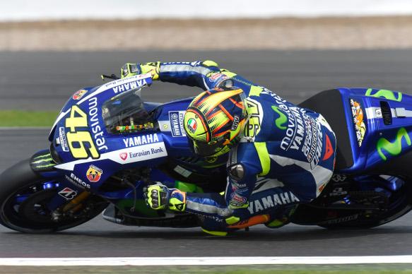 Valentino Rossi, Silverstone MotoGP 2015