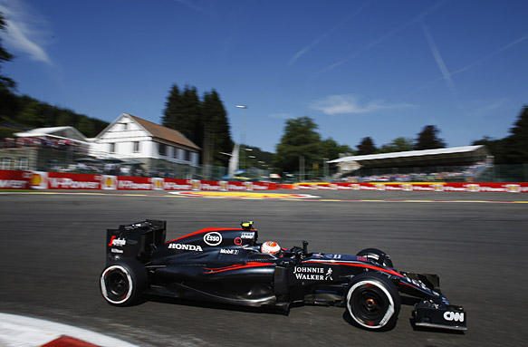 Jenson Button, Belgian GP 2015
