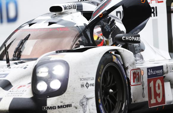 Hulkenberg, Porsche