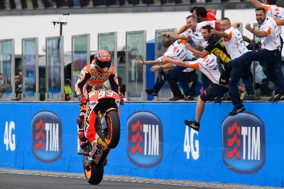 Marc Marquez, Honda, Misano MotoGP 2015