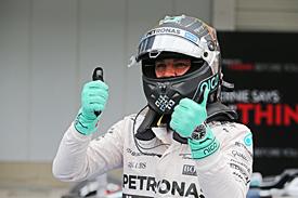 Nico Rosberg takes Japanese GP pole 2015