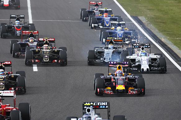 Japanese GP start 2015
