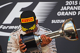 Lewis Hamilton wins Japanese GP 2015