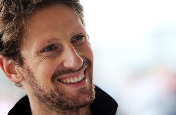 Romain Grosjean, F1 2015