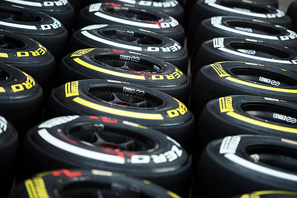Pirelli completes 2015 F1 tyre choices