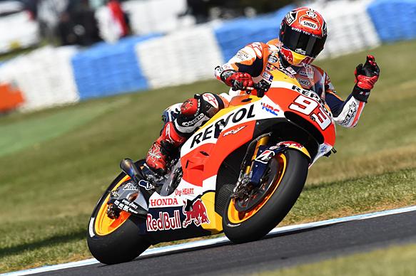 Marc Marquez, Honda, Phillip Island MotoGP 2015
