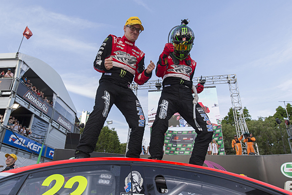 Jack Perkins and James Courtney win V8 Supercars' Gold Coast 600