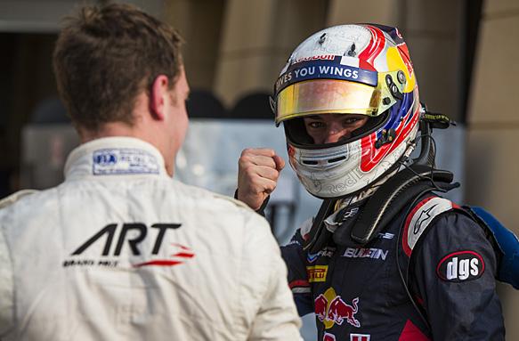 Pierre Gasly,  Stoffel Vandoorne,  GP2 2015