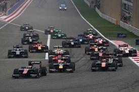 GP2, Bahrain, start