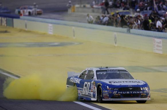 Buescher, NASCAR
