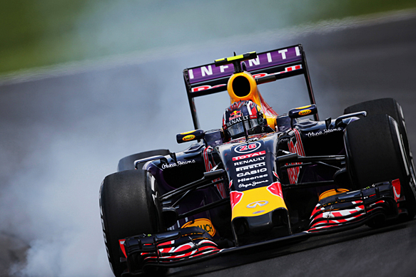 Daniil Kvyat, Red Bull, Brazilian GP 2015, Interlagos