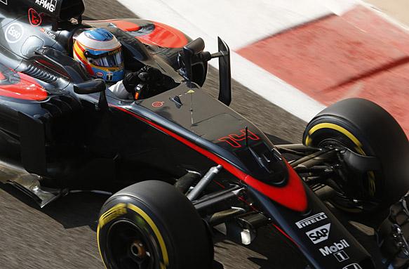 Fernando Alonso, Abu Dhabi GP 2015