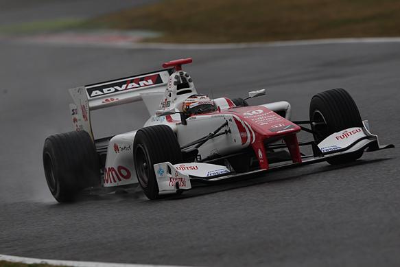Stoffel Vandoorne, Super Formula test