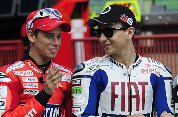 Casey Stoner, Jorge Lorenzo, MotoGP