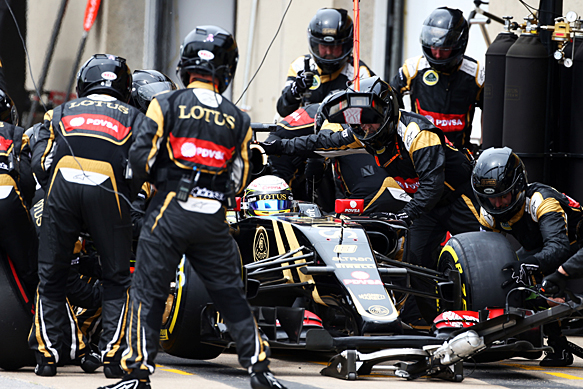 Romain Grosjean, Lotus, Canadian GP 2015