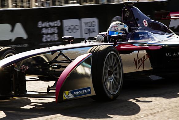 Sam Bird, DS Virgin, Buenos Aires Formula E 2016