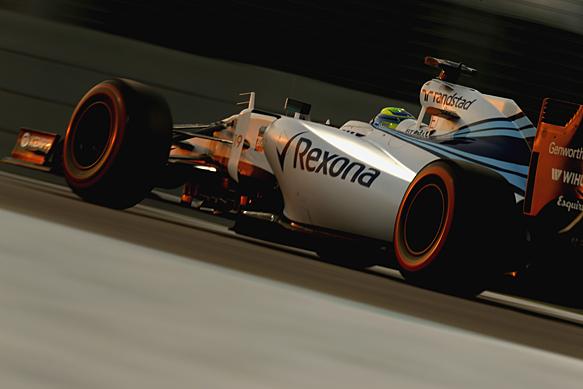 Felipe Massa, Williams, Abu Dhabi GP 2015