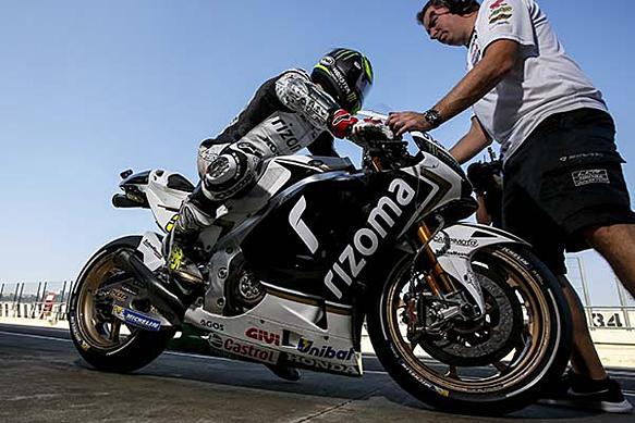 Cal Crutchlow, LCR Honda, Valencia MotoGP testing 2015