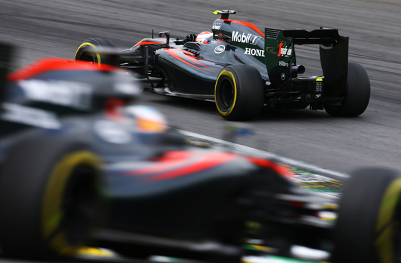 Button, Alonso, McLaren, Brazil