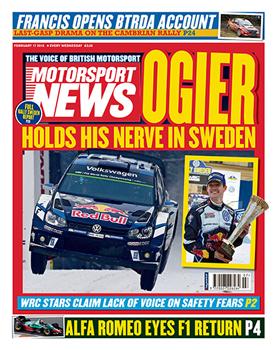 Motorsport News cover