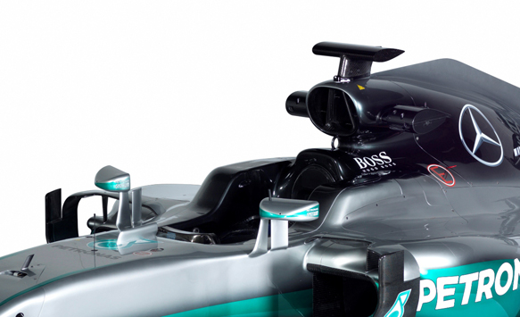 Mercedes F1 launch 2016