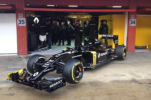 Renault F1 launch 2016
