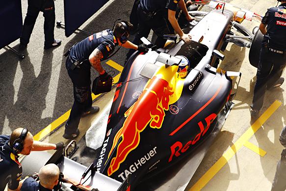 DAniel Ricciardo, Red Bull, Barcelona F1 test 2016
