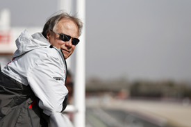 Haas jetted straight to Spain after watching Stewart-Haas in the Daytona 500