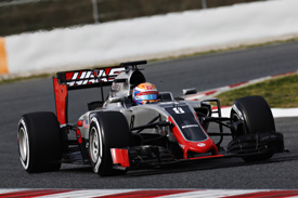 Other than a front-wing failure on the morning, it has been a smooth start for Haas