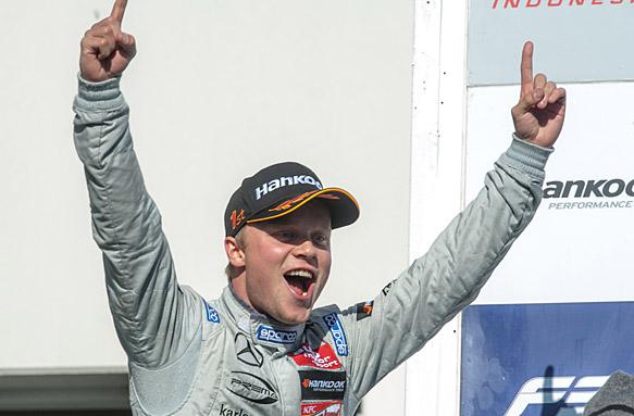 Felix Rosenqvist, European F3 2015