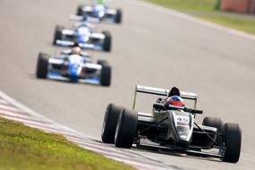 Based on a Formula 3 engine block, the current powerplants produce 180bhp