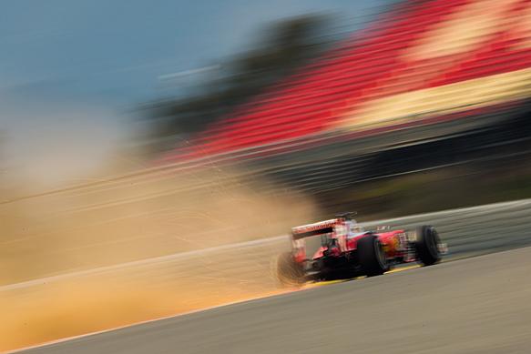 Sebastian Vettel, Ferrari, Barcelona F1 testing February 2016