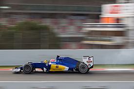 Felipe Nasr, Sauber, Barcelona F1 testing, February 2015