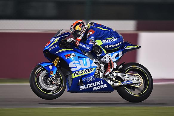 Maverick Vinales, Suzuki, Losail MotoGP test 2016