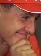 2000 Formula 1 world champion Michael Schumacher