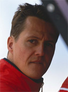 2002 Formula 1 world champion Michael Schumacher