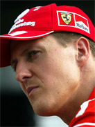 2003 Formula 1 world champion Michael Schumacher