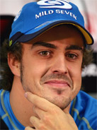 2006 Formula 1 world champion Fernando Alonso