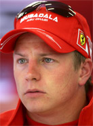 2007 Formula 1 world champion Kimi Raikkonen